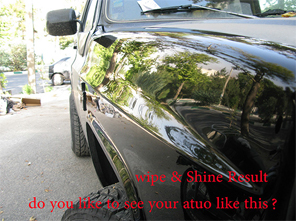 Wipe and Shine ultra revitalizing solution for AUTO